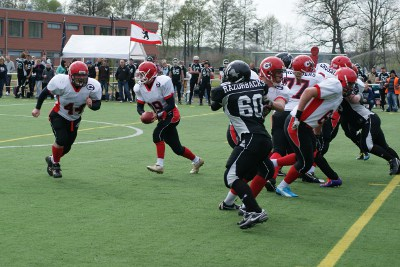 Erkner Razorbacks vs. Chemnitz Crusaders