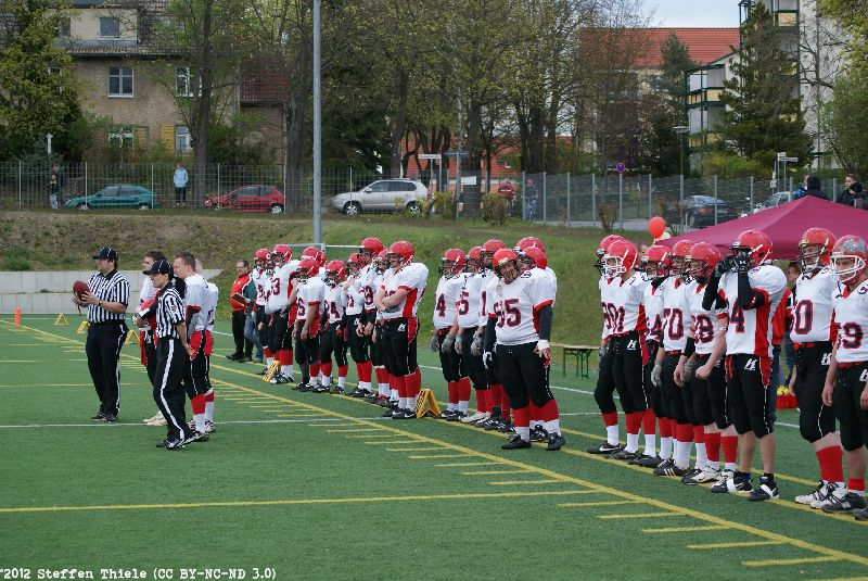 Gameday 22.04.2012 | Crusaders @ Erkner Razorbacks