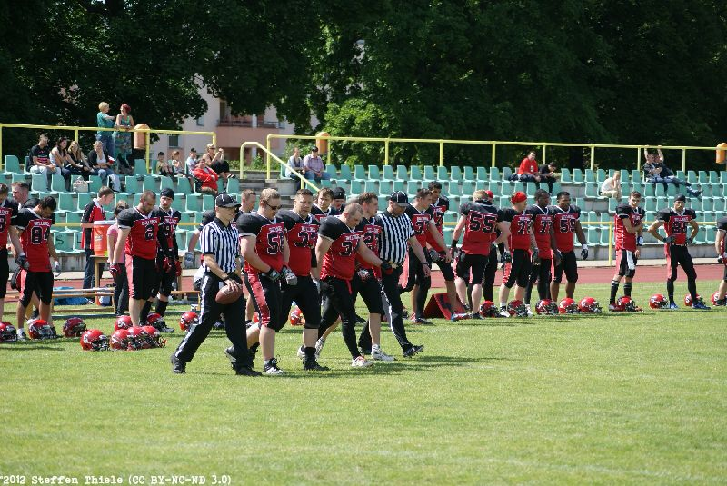 Gameday 09.06.2012 | Crusaders @ Spandau Bulldogs