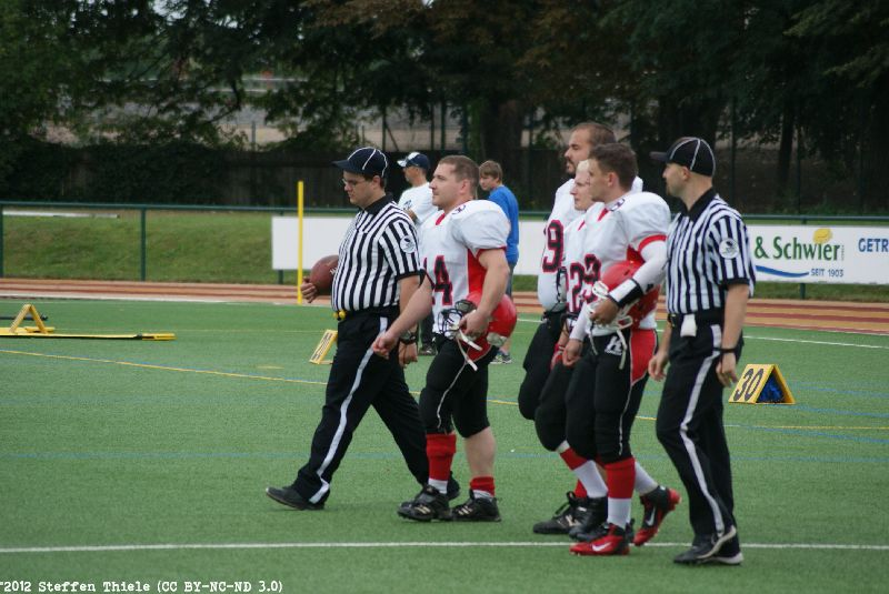 Gameday 02.09.2012 | Crusaders @ Radebeul Suburbian Foxes