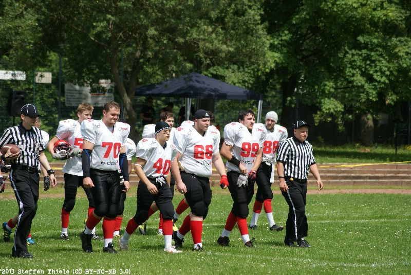 Gameday 06.07.2013 | Varlets vs. Wolgast Vandals