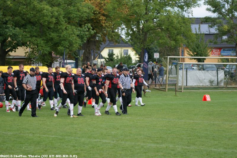 Gameday 21.09.2013 | Crusaders @ Potsdam Royals