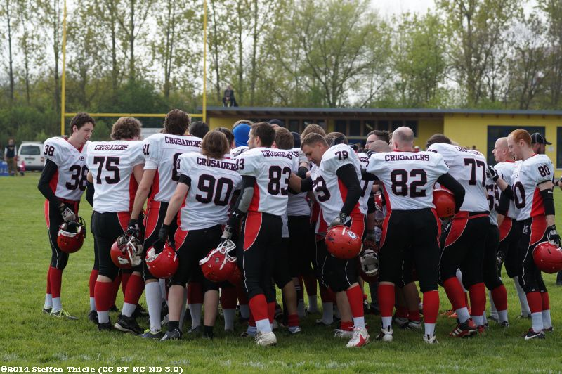 Preseason 12.04.2014 | Crusaders @ Leipzig Lions