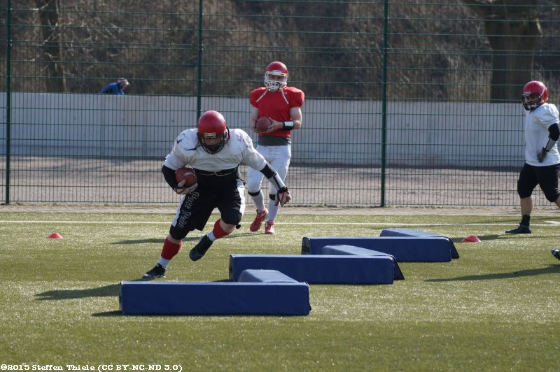 Crusaders Trainingscamp 28.03.-29.03.2015