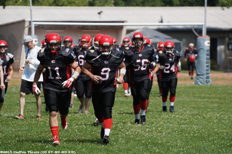 Gameday 05.07.2015 | Crusaders vs. Erfurt Indigos