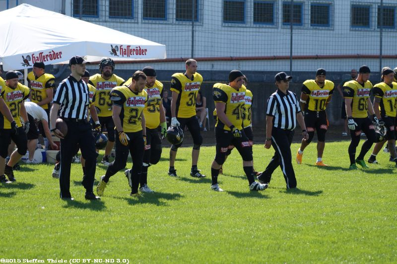 Gameday 30.08.2015 | Crusaders @ Wernigerode Mountain Tigers