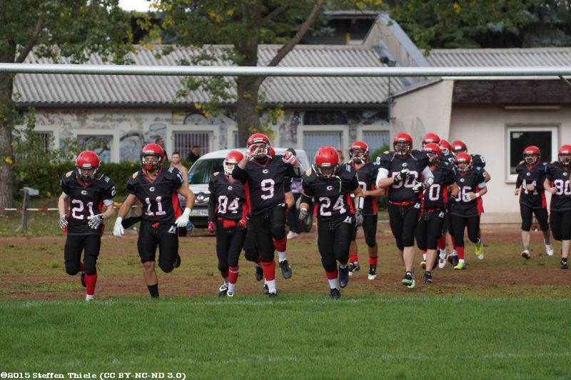 Gameday 20.09.2015 | Crusaders vs. Erkner Razorbacks