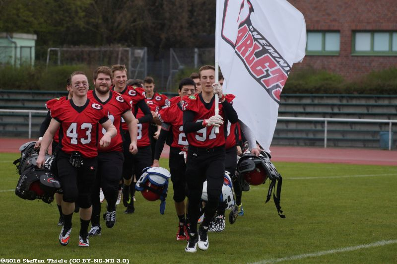 Gameday 16.04.2016 | Varlets @ Berlin Kobras
