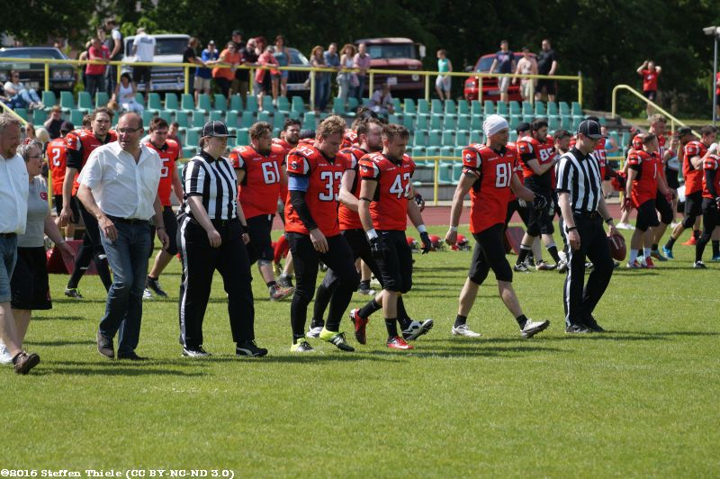 Gameday 22.05.2016 | Crusaders @ Spandau Bulldogs