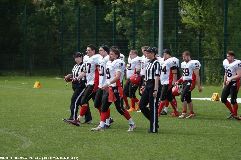 Gameday 07.05.2017 | Crusaders @ Leipzig Hawks