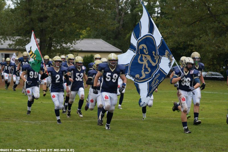 Gameday 16.09.2017 | Claymores vs. Dresden Monarchs U16