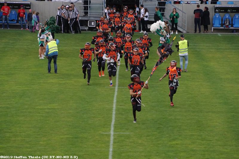 25 Jahre Crusaders 07.09.2019 | Crusaders vs. Vogtland Rebels